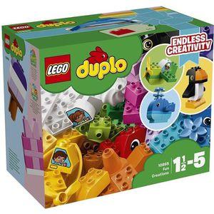 ASSEMBLAGE CONSTRUCTION LEGO® DUPLO® Mes 1ers pas 10865 Les créations amus