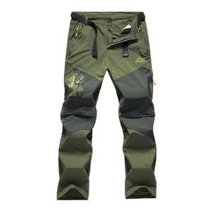 PANTALON - SHORT DE MONTAGNE Pantalon Convertible de Randonnée 2 en 1 Pantalon