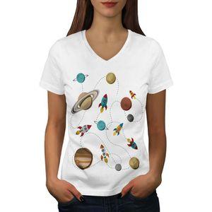 T-SHIRT Espace Exploration Women  T-shirt à sonnerie   Wel