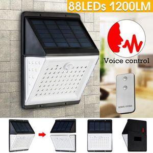 LAMPE DE JARDIN  TEMPSA 88LED 1200LM Lampe Solaire Télécommande App