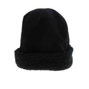 BONNET - CAGOULE Bonnet - Tambourin - Femme - Noir- Polaire doublé