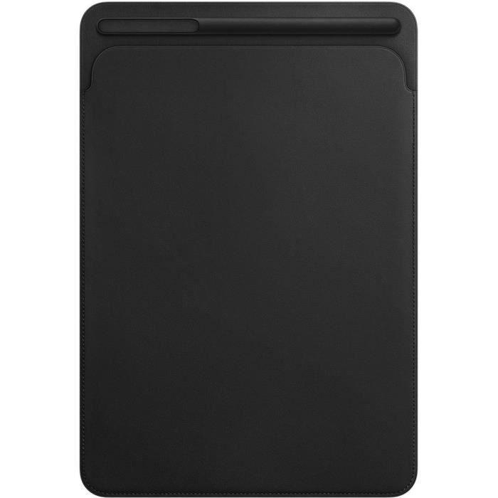 Étui en cuir pour iPadPro 10,5pouces- Noir