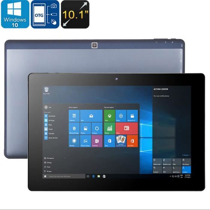 10,1 pouces Windows Office Quad Core Tablet 32Go pour Windows 10 Type C Tablettespcs @Nihapai3447