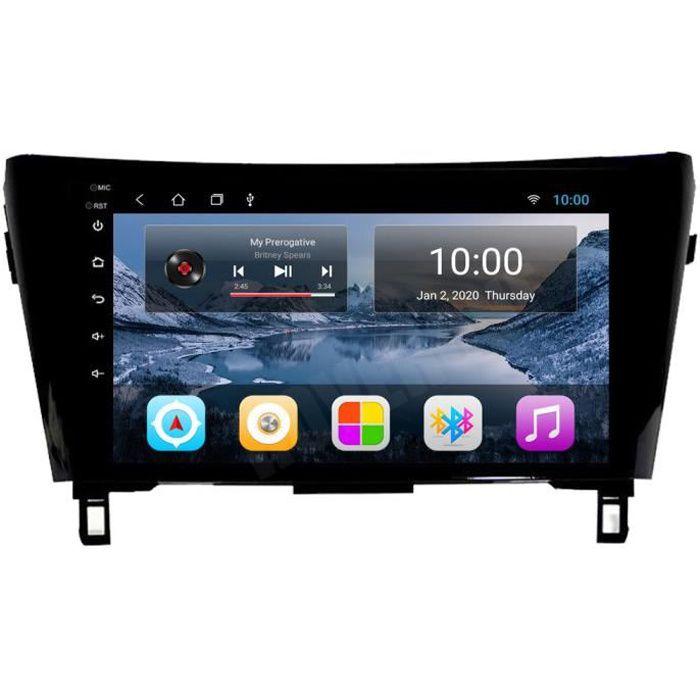 RoverOne Autoradio GPS Bluetooth pour Nissan Qashqai X-trail 2014 2015 2016 Android Stéréo Navigation WiFi Écran Tactile