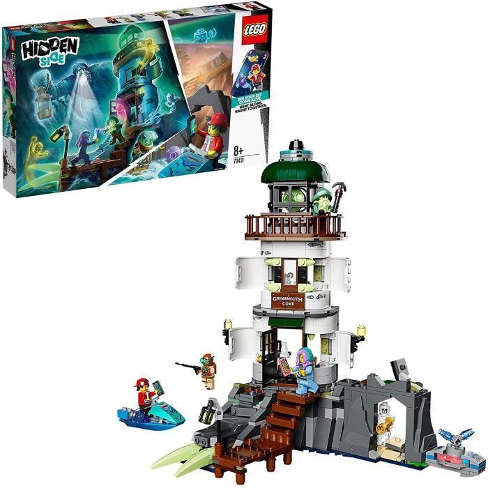 Jeux de construction LEGO Hidden Side, Le phare des ténèbres, Appli AR Games, Set de jeu de réalité augmentée multijoueu 52872
