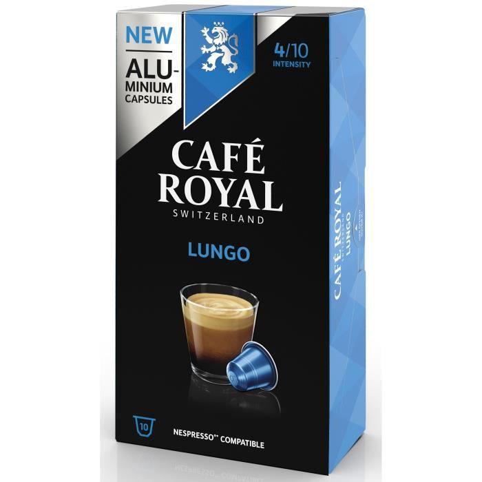 CAFE ROYAL compatible Nespresso Alu Lungo x10
