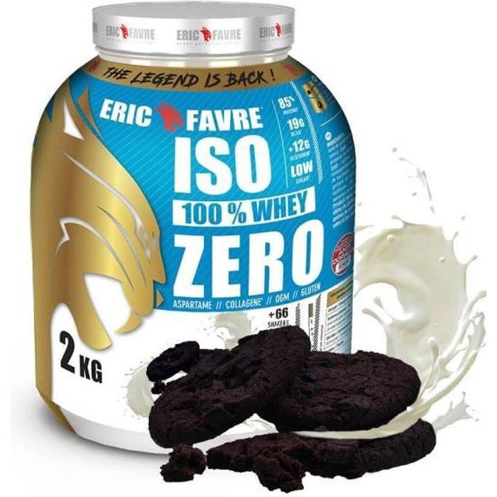 Iso Zero 100% Whey Protéine - Eric Favre Cookies & Cream