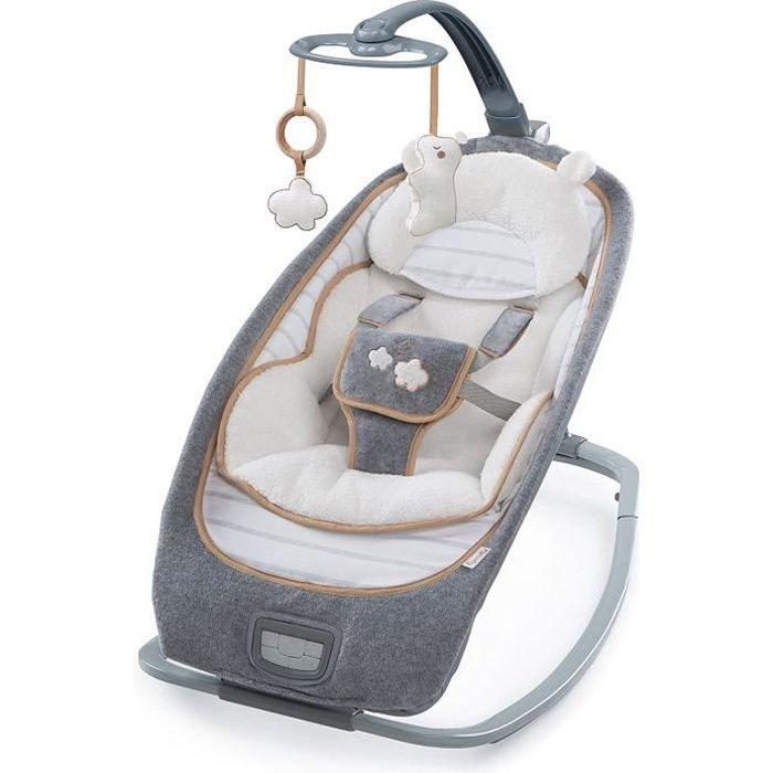 Ingenuity Transat à bascule pour bébé Bella Teddy K10986