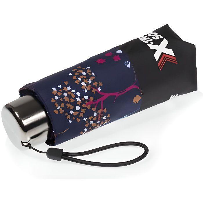 Isotoner Parapluie x-tra solide pliant cerisier femme