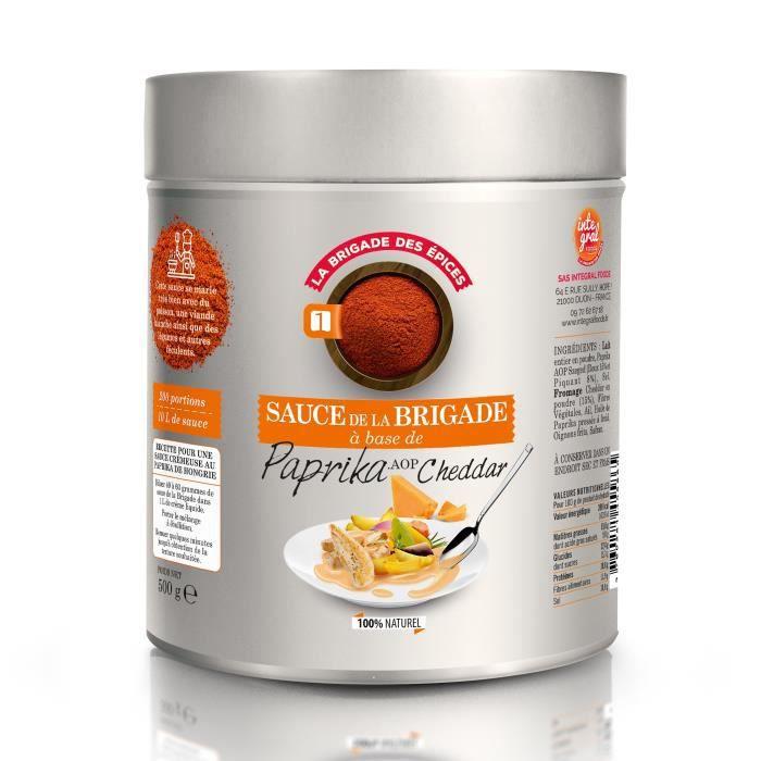 Sauce Paprika AOP Cheddar - 500 g - made in France