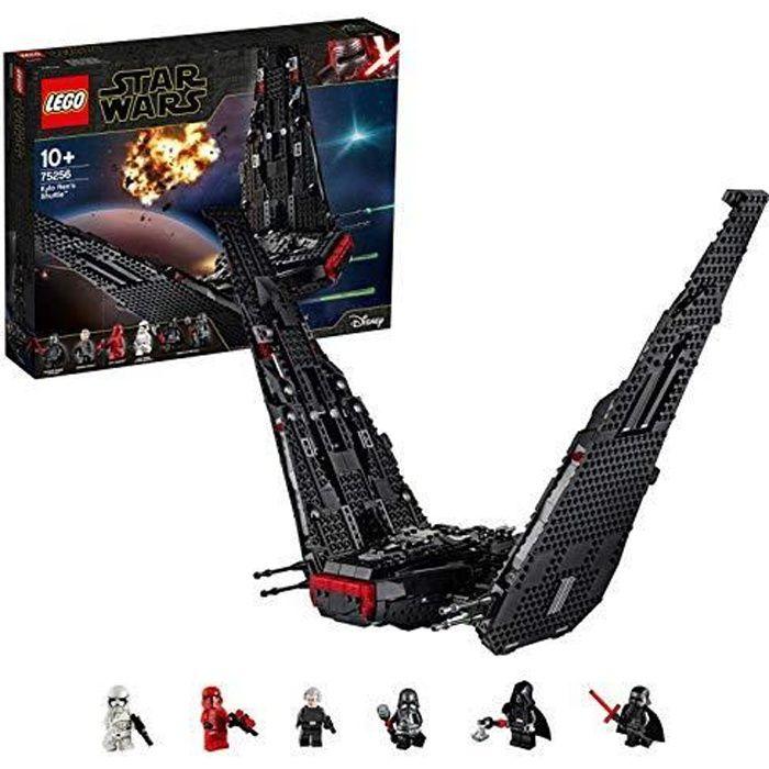 LEGO®-Star WarsTM La navette de Kylo Ren Jouet Enfant à Partir de 10 ans, 1005 Pièces à Construire 75256 75256