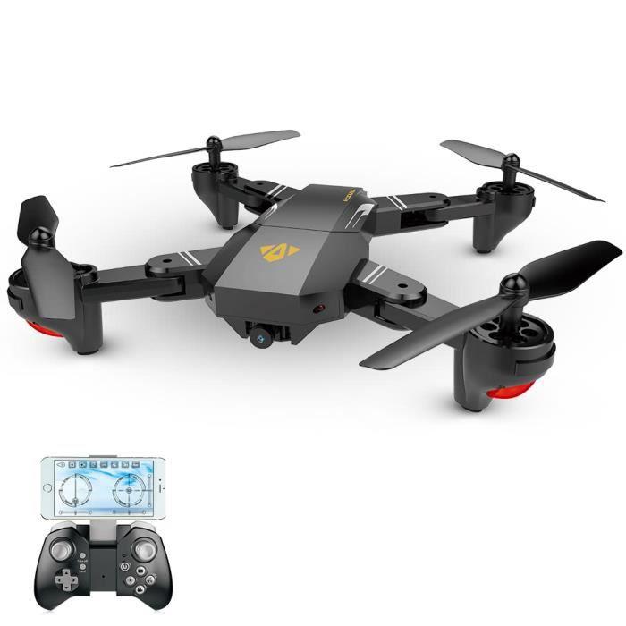 VISUO XS809HW RC Drone Wifi FPV 0.3MP Caméra pliable Selfie Hauteur maintien Quadcopter G-capteur RTF