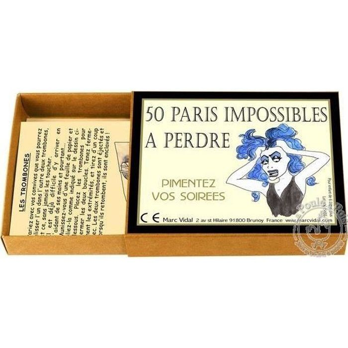 50 Paris impossible à perdre