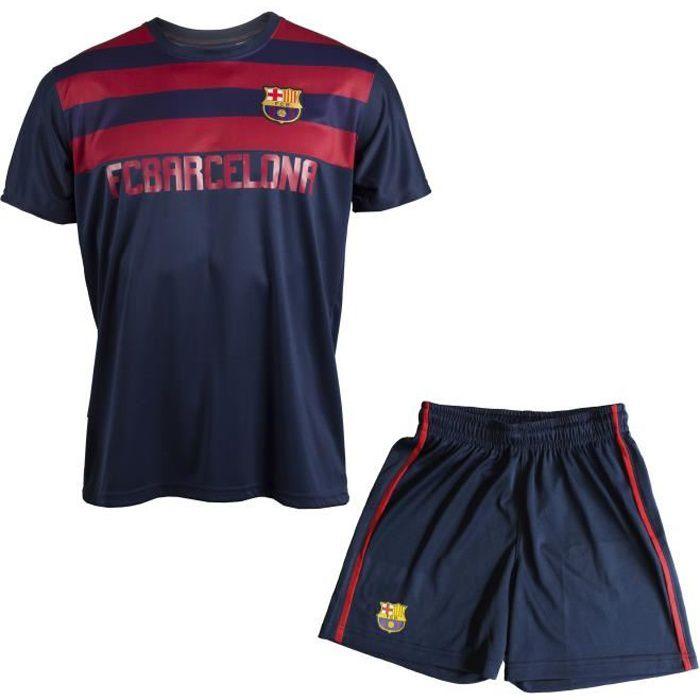 Maillot + short Barça - Collection officielle FC BARCELONE