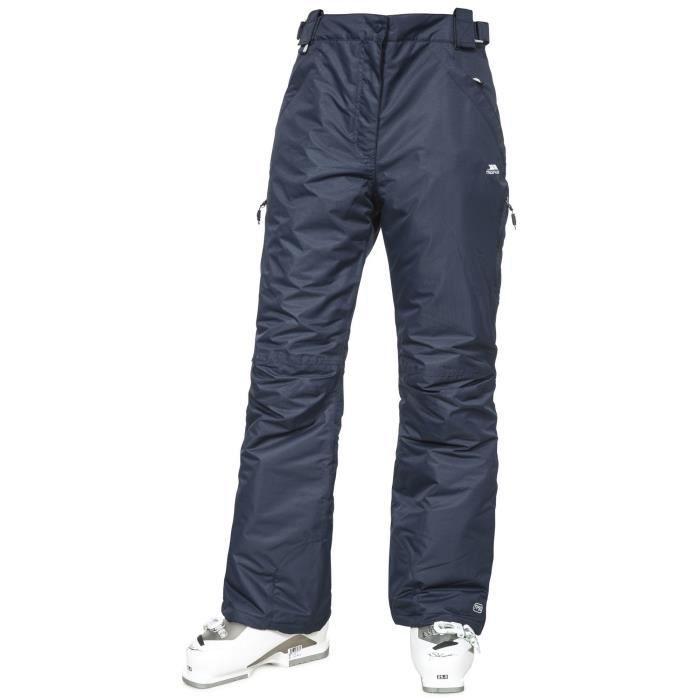Trespass Lohan - Pantalon de ski imperméable - Femme (Bleu marine)