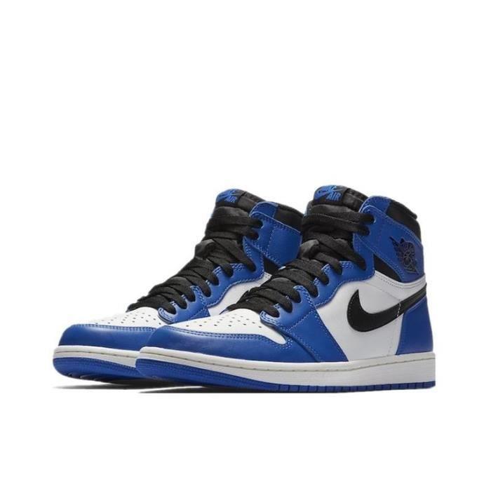 Air Jordan 1 Retro High-Game Royal-Chaussures de Sport Basket AJ 1 Pas Cher pour Femme Homme