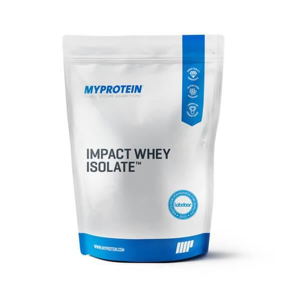 Impact Whey Isolate, Natural Chocolate, 1KG - MyProtein