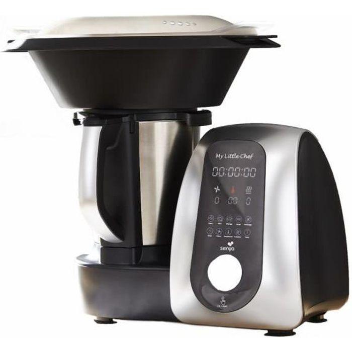 Senya robot cuiseur multifonction My Little Chef, 15 programmes automatiques site recettes dédiée 1700W, SYCP-M017