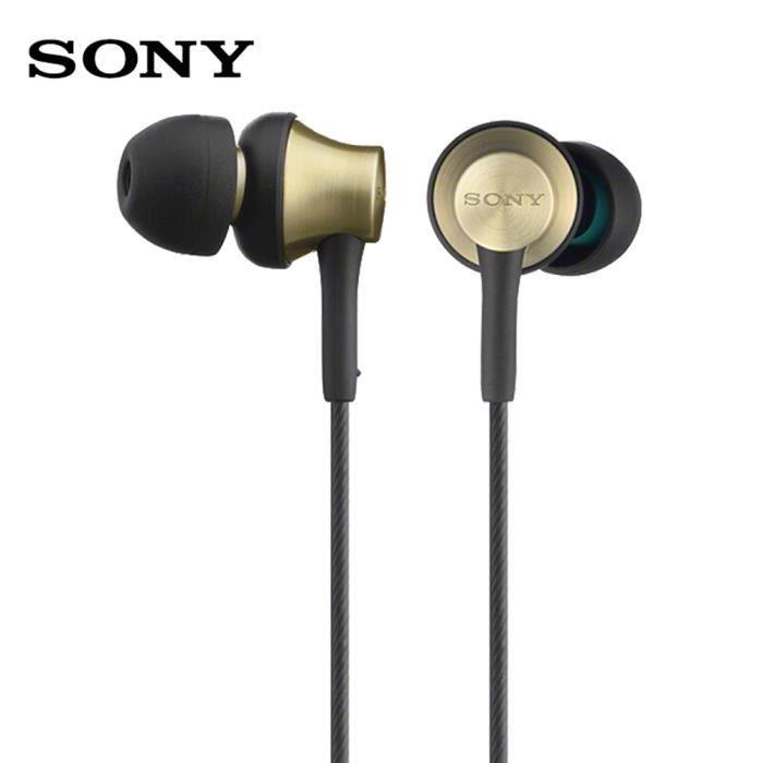 SONY MDR-EX650AP Écouteurs intra-auriculaires 3.5mm avec fil Écouteurs stéréo pour musique Écouteur Smart Phone Casque mains 1_Regis