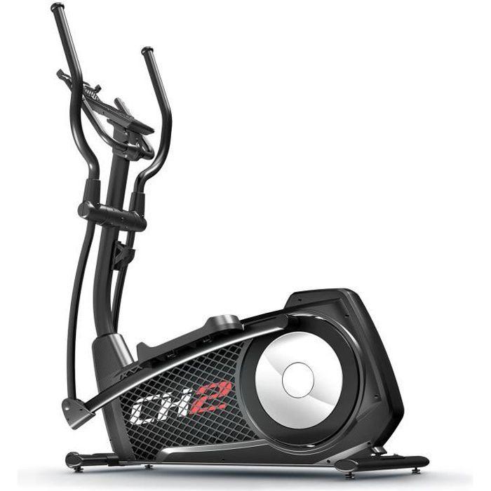 Sportstech CX2 Vélo elliptique - Marque allemande de qualité - Vidéos en direct & Multijoueur - Entraîneur elliptique avec console