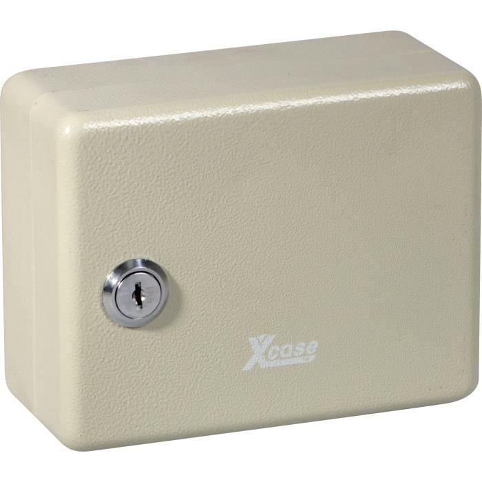Mini armoire à clés en acier pour 10 clés