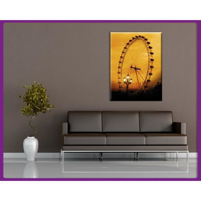 Bilderdepot24 impression sur toile london eye grande for Tableau impression sur toile