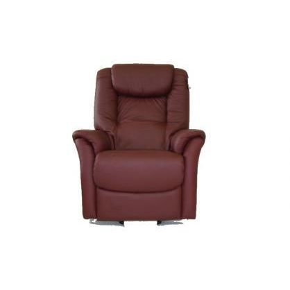 fauteuil relaxation 100 cuir davinci bordeaux achat vente fauteuil mati re de la. Black Bedroom Furniture Sets. Home Design Ideas