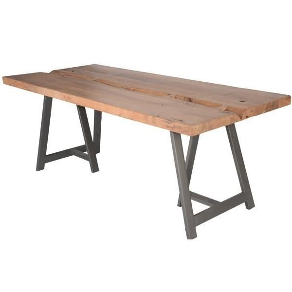 Table a manger bois naturel achat vente table a manger bois naturel pas c - Table a manger discount ...