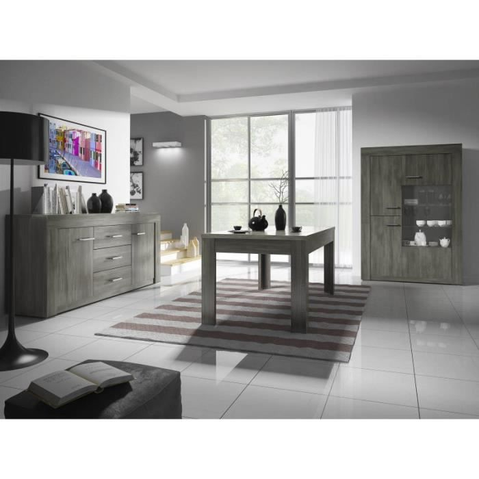 ensemble salle manger compl te tienen gris achat vente salle manger ensemble salle. Black Bedroom Furniture Sets. Home Design Ideas