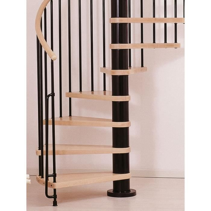 escalier en colima on klan de chez fontanot diametre 160cm hauteur 274 306cm 13 marches. Black Bedroom Furniture Sets. Home Design Ideas