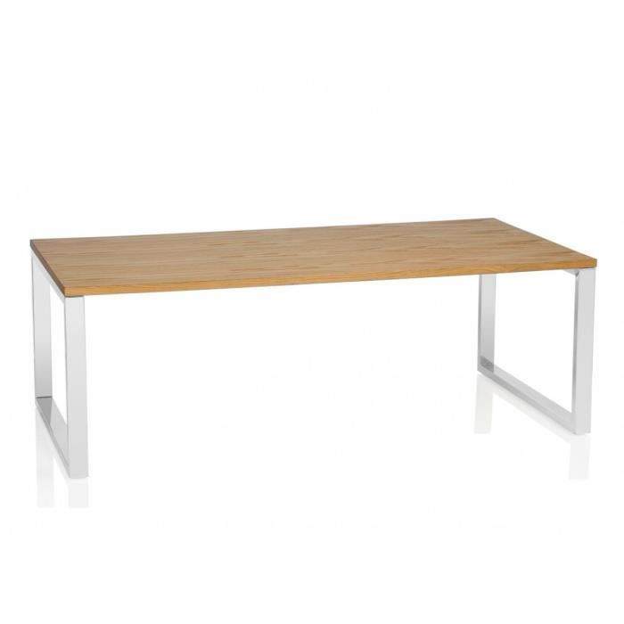 Table basse design rectangulaire 120 cm no name achat - Table rectangulaire design ...