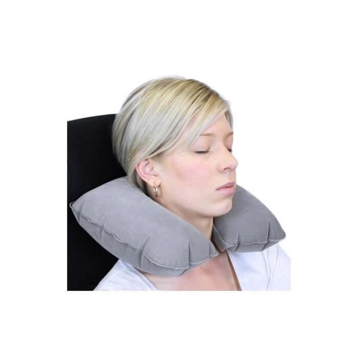 Coussin Cervical Gonflable de Voyage Neuf