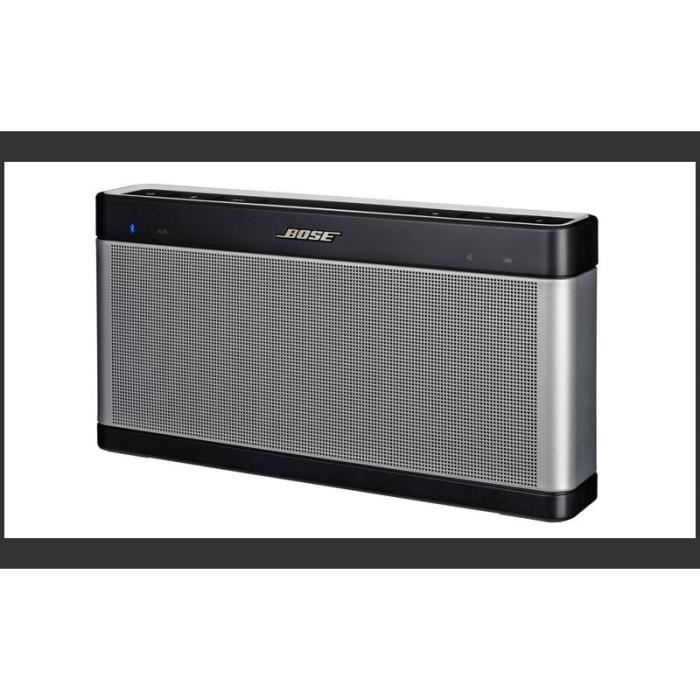 enceinte sans fil bose soundlike speaker 3 enceintes bluetooth avis et prix pas cher cdiscount. Black Bedroom Furniture Sets. Home Design Ideas
