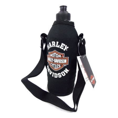 harley davidson official licensed gourde bouteille housse isolants noir env 1 litre achat. Black Bedroom Furniture Sets. Home Design Ideas