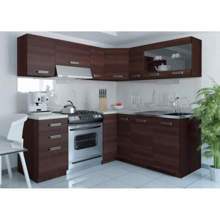 justhome lidia l l cuisine quip e compl te 190x170 cm. Black Bedroom Furniture Sets. Home Design Ideas