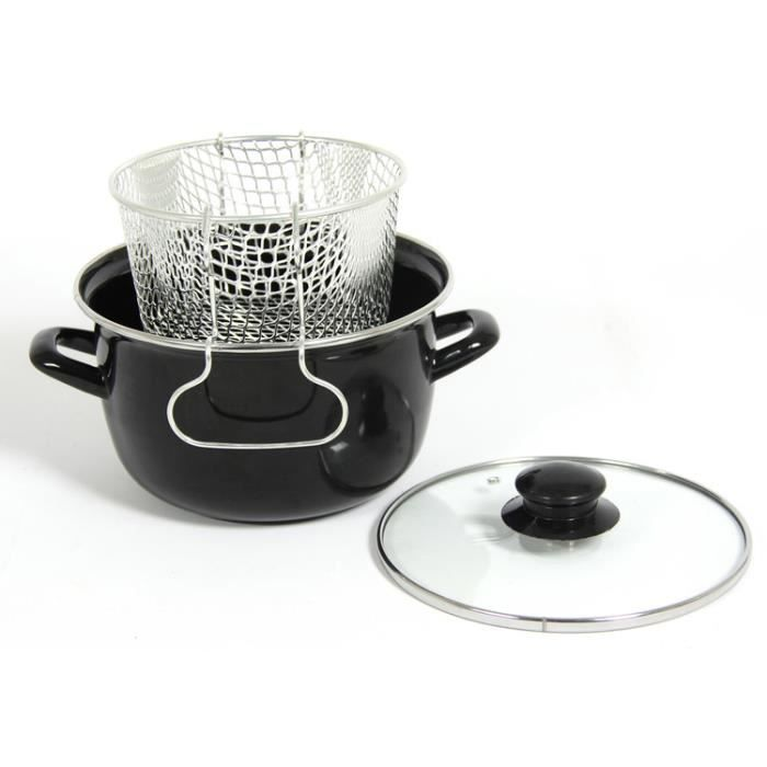 FRITEUSE MENASTYL CUISSON Mini friteuse avec couvercle 20cm