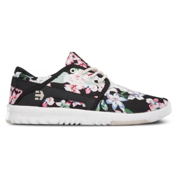 CHAUSSURES ETNIES SCOUT WOS BLACK FLORAL