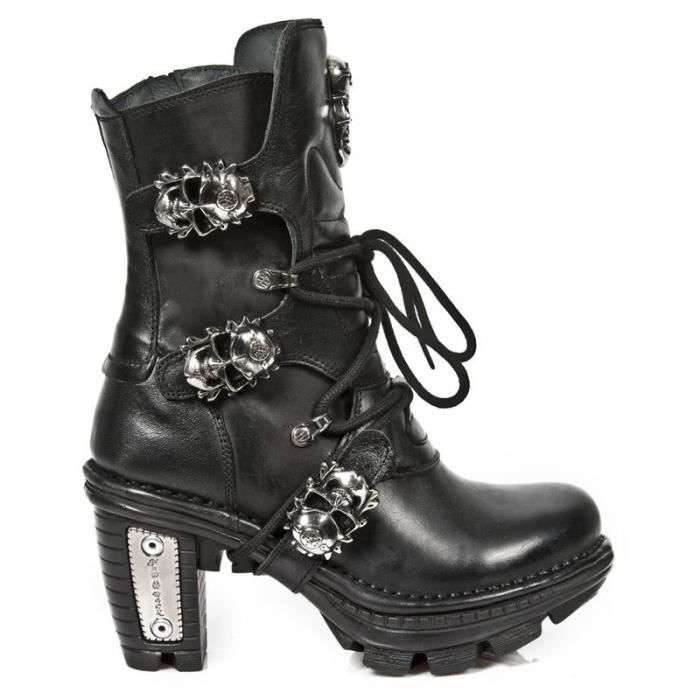 Bottes cuir New Rock M.375-S1 eM04RTEd56