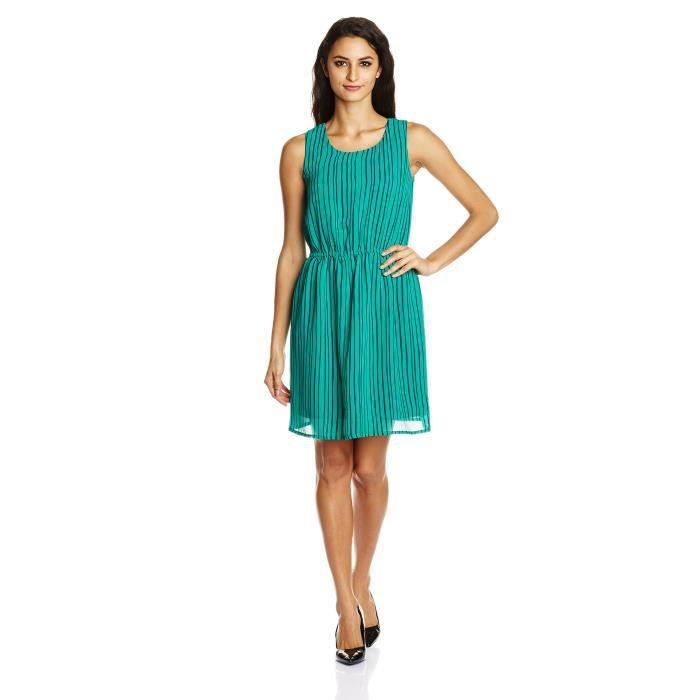 Van Heusen Womens Cotton A-line Dress OUBI3 Taille-36