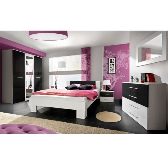 Paris prix chambre compl te adulte 6p vicky 140x200cm for Chambres a coucher adultes completes