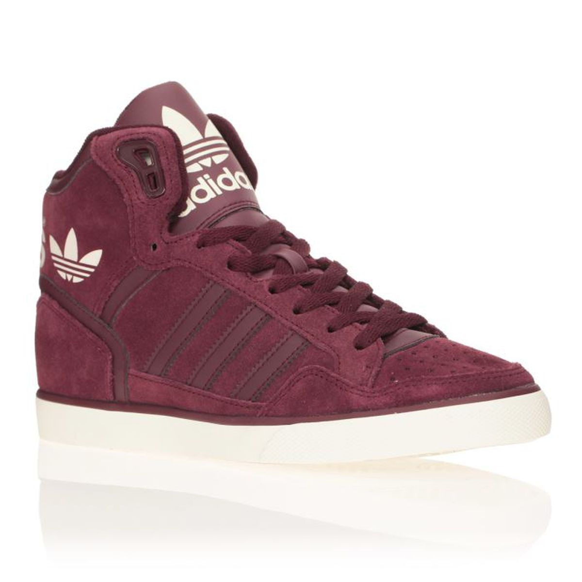 Baskets W Bordeaux Adidas Achat Vente Femme Originals Extaball 34qRcAL5jS