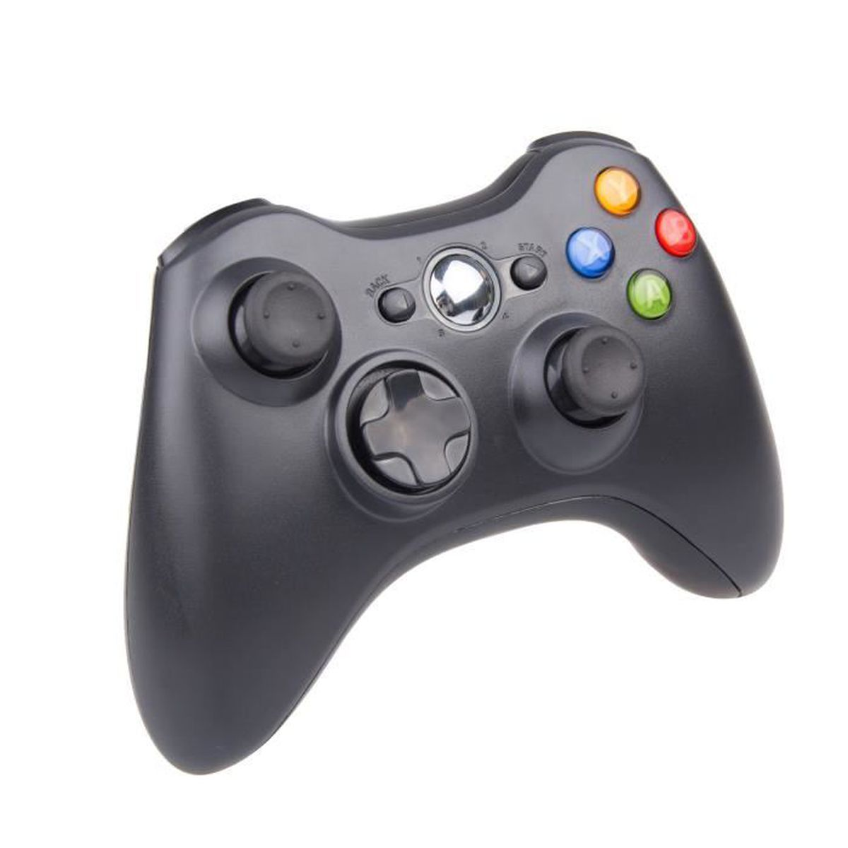 manette de jeu sans fil xbox pour xbox 360 2 4ghz gamepad sans fil manette contr leur de jeu. Black Bedroom Furniture Sets. Home Design Ideas