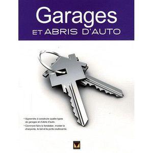 AUTRES LIVRES Garages et abris d'auto