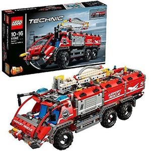 ASSEMBLAGE CONSTRUCTION Lego 42068 Airport Rescue Vehicle Toy 1XZ6A9