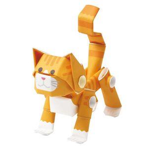 JEU DE COLORIAGE - DESSIN - POCHOIR Jeu De Coloriage animaux chats orange tabby - kit