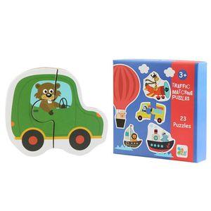 PUZZLE Puzzle  Enfants en bois pour bébé en bois Cognitio