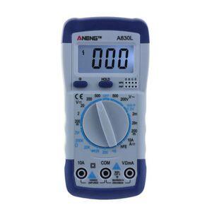 MULTIMÈTRE Multimètre numérique A830L Instrument de mesure él