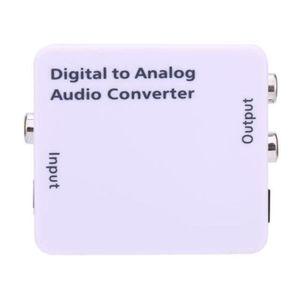 CÂBLE TV - VIDÉO - SON QX Adaptateur de Convertisseur Audio Analogique -