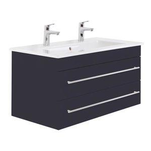 Meuble salle de bain 100 cm double vasque