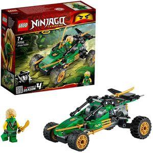 ASSEMBLAGE CONSTRUCTION LEGO® NINJAGO® 71700 Le buggy de la jungle
